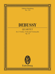 Quartet: for 2 Violins, Viola and Violoncello, Op. 10
