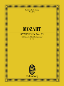 Symphony No. 25 G Minor: K. 183