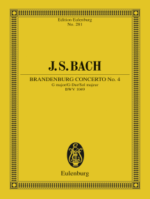 Brandenburg Concerto No. 4 G major: BWV 1049