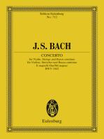 Violin Concerto, E major