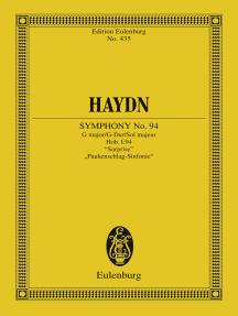 """Symphony No. 94 G major, """"Surprise"""": Hob. I: 94"""