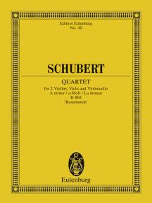 "Quartet A minor: D 804, ""Rosamunde"""