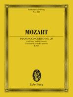 Piano Concerto No. 20 D minor
