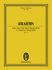 A German Requiem: Op. 45