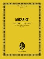 Clarinet Concerto A major