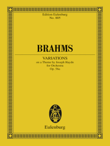 Variations on a Theme by Joseph Haydn: Op. 56a