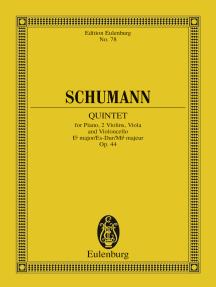 Piano Quintet Eb Major: Op. 44