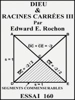 Dieu & racines carrées III