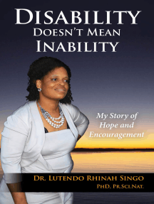 Disability Doesn't Mean Inability