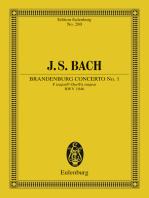 Brandenburg Concerto No. 1 F major