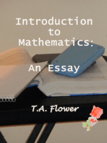 Introduction to Mathematics: An Essay