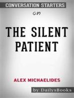 The Silent Patient by Alex Michaelides: Conversation Starters