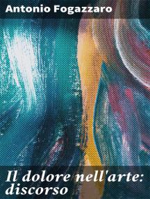 Il dolore nell'arte: discorso