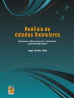 Análisis de estados financieros: Fundamentos, análisis prospectivo e interpretación bajo distintas perspectivas