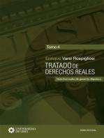 Tratado de derechos reales: Derechos reales de garantía. Hipoteca. Tomo 4