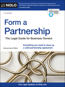 Form a Partnership: The Legal Guide for Business Owners