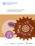 Modelos de negocios para proyectos de energía térmica de biomasa