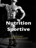 Nutrition Sportive Fondamentaux et guide pratique du succès