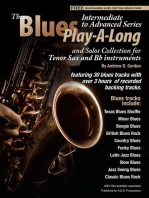 Blues Play-A-Long and Solos Collection for Tenor Sax and Bb Instruments Intermediate-Advanced Level
