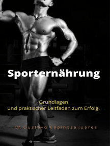 Sporternährung Grundlagen und praktischer Leitfaden zum Erfolg.