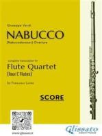 Nabucco - Flute Quartet score & parts