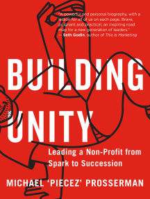 Building Unity: Leading a Non-Profit from Spark to Succession