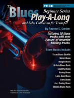 Blues Play-A-Long and Solos Collection for Trumpet Beginner Series
