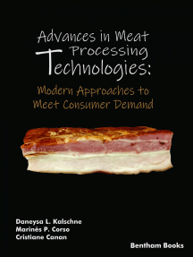 Advances in Meat Processing Technologies: Modern Approaches to Meet Consumer Demand