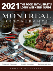 2021 Montreal Restaurants - The Food Enthusiast's Long Weekend Guide