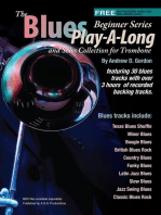 Blues Play-A-Long and Solos Collection for Trombone Beginner Series