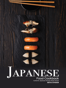 Japanese Food Cookbook: Authentic Japanese Recipes Made Simple