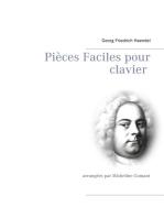 Pièces Faciles pour clavier: arrangées par Micheline Cumant