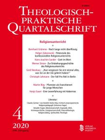 Religionsunterricht: Theologisch-praktische Quartalschrift 4/2020