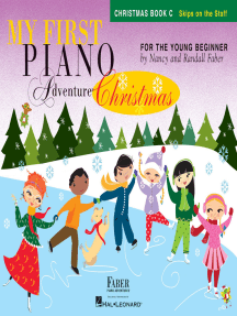 My First Piano Adventure® Christmas - Book C: Skips on the Staff