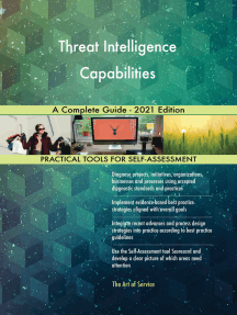 Threat Intelligence Capabilities A Complete Guide - 2021 Edition