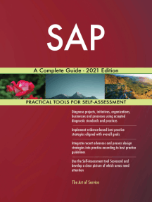 SAP A Complete Guide - 2021 Edition