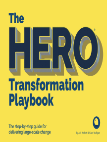 The HERO Transformation Playbook: The step-by-step guide for delivering large-scale change