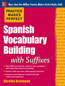 Practice Makes Perfect: Spanish Vocabulary Builder