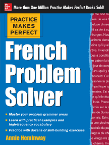 Practice Makes Perfect French Problem Solver (EBOOK): With 90 Exercises