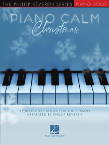 Piano Calm Christmas: 15 Reflective Solos for the Season