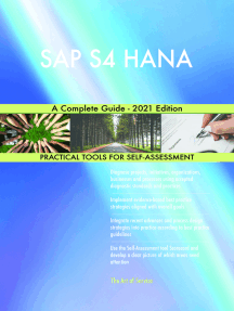 SAP S4 HANA A Complete Guide - 2021 Edition