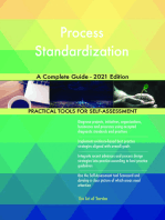 Process Standardization A Complete Guide - 2021 Edition