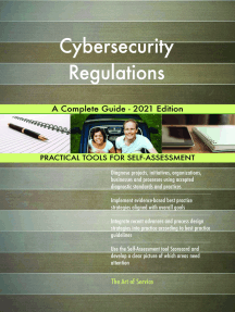 Cybersecurity Regulations A Complete Guide - 2021 Edition