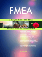 FMEA A Complete Guide - 2021 Edition