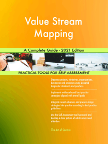 Value Stream Mapping A Complete Guide - 2021 Edition