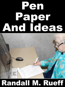 Pen Paper And Ideas