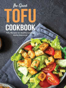 The Giant Tofu Cookbook: Tofu Recipes for Healthy Cooking