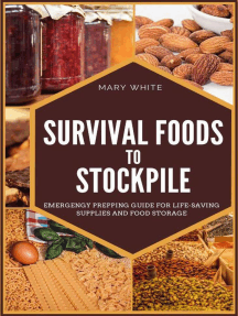 Survival Foods to Stockpile: Pandemic Survival, #5