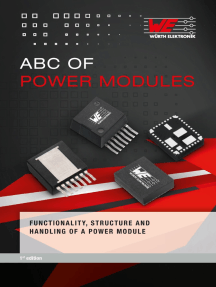 Abc of Power Modules: Functionality, Structure and Handling of a Power Module
