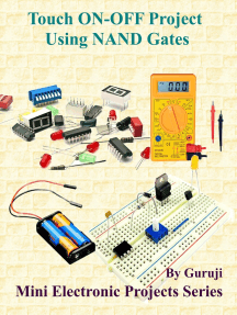 Touch ON-OFF Project Using NAND Gates